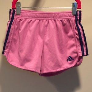 Girls Addias Shorts